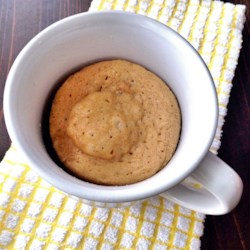 Peanut Butter Cookie in a Mug Recipe