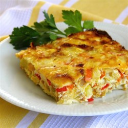 Corn-Onion Pudding