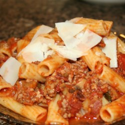 Dad's Bolognese Meat Sauce Recipe