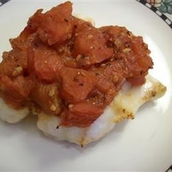 Orange Roughy with Montreal Salsa Recipe
