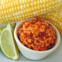 Corn on the Cob With Spicy Lime Butter Recipe