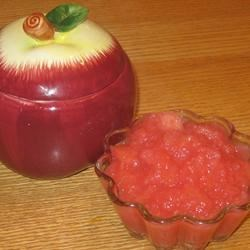 Holiday Cranberry Applesauce