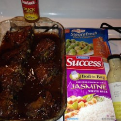 Lamb Chops in Duck Sauce Recipe