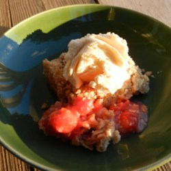 Fresh Cherry Crisp Recipe
