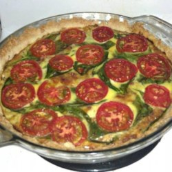 Spinach Artichoke Quiche Recipe
