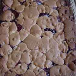 Choco-Raspberry Bars Recipe