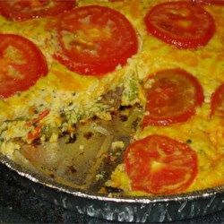 Broccoli and Cheese Brunch Casserole