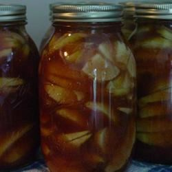 YUMMY! Canned Apple Pie Filling