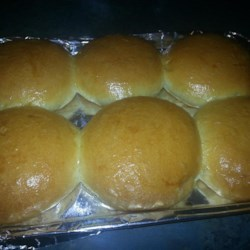Soft-N-Fluffy Hamburger Buns Recipe