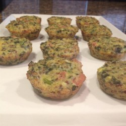 Mini Frittatas with Quinoa Recipe