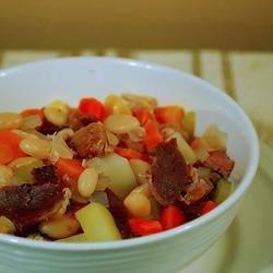 Basic Ham and Bean Soup Recipe | Recipe Geeker