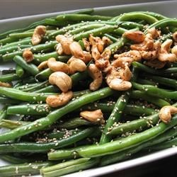 Japanese-Style Sesame Green Beans Recipe