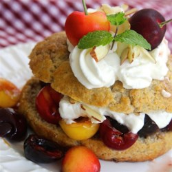 Fresh Cherry Shortcake Recipe