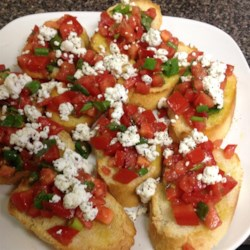 Bruschetta with Shallots Recipe