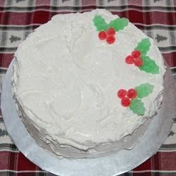 Coconut Christmas Cake