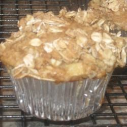 Oatmeal Blueberry Muffins