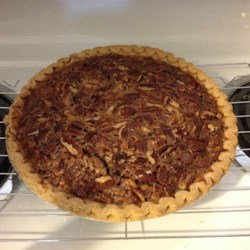 Milk Chocolate Pecan Pie Recipe