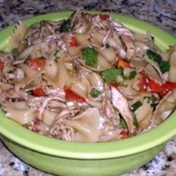 Sesame Pasta Chicken Salad