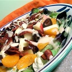 Fruit and Bacon Salad Recipe