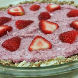 Raw Vegan Strawberry Pie Recipe