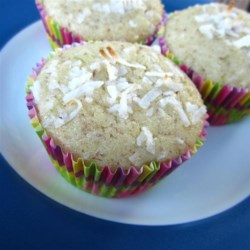 Texas Lime in the Coconut Muffins