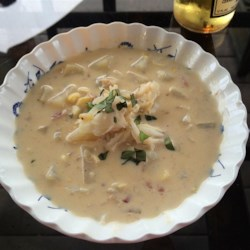 Easy Chicken and Corn Chowder Recipe
