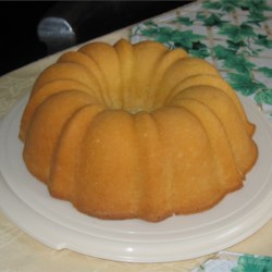 Whipping Cream Pound Cake