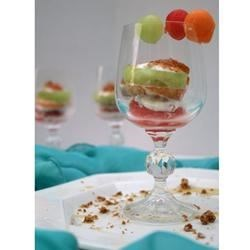 Melon Trio with Sherry and Mint Recipe