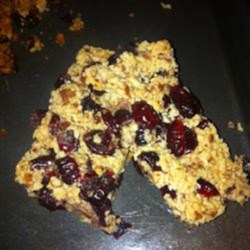 Gluten-Free Fruit and Nut Bars Recipe