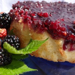 Blackberry Upside Down Cake Recipe