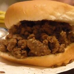 Loose Meat on a Bun, Restaurant Style Recipe