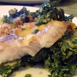 Aunt Carol's Spinach and Fish Bake Recipe - Allrecipes.com