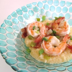 Shrimp and Cheesy Grits with Bacon Recipe