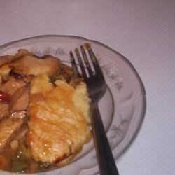 Chicken Honey Mustard Pie Recipe