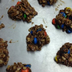 Peanut Butter Cocoa No-Bake Cookies Recipe