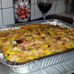 Cheesy Scalloped Potatoes with Ham Recipe