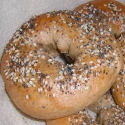 Everything - Bread Machine Bagels
