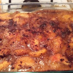 California Peach Cobbler Recipe
