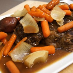 Slow Cooker Roast Beef in its own Gravy