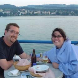 Dinner on Lake Zurich