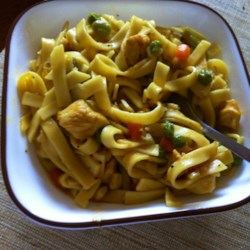 Quick Chicken and Noodles Recipe