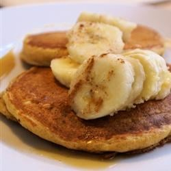 Wheat Germ Whole-Wheat Buttermilk Pancakes