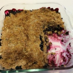 Crumbly Blackberry Cobbler Recipe