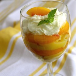 Lemon Peach Parfaits