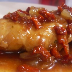 Onion Chicken in Balsamic Sauce Recipe