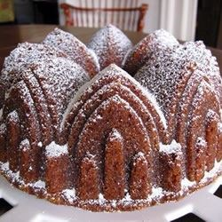 Barbara's Golden Pound Cake Recipe