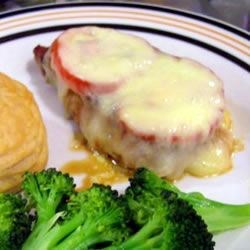 Cheezy Tomato Chops