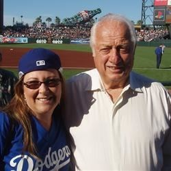 Me and Tommy Lasorda