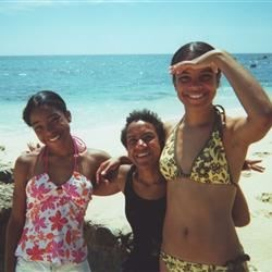 Me and my sisters at Palmilla Beach