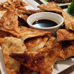 Korean Egg Roll Triangles Recipe